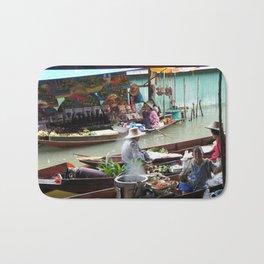 Floating Market Vendors Bath Mat