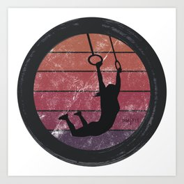 Muscle Up Art Print