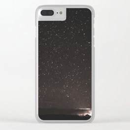 Starry Summer Night in Arizona Clear iPhone Case