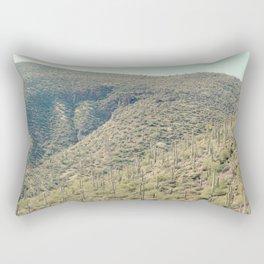 rolling cacti Rectangular Pillow