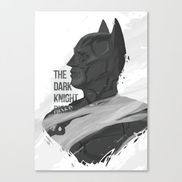THE DARK KNIGHT RISES Canvas Print