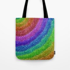 Rainbow Glitters Tote Bag