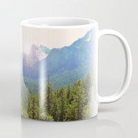 yosemite Mugs featuring Yosemite by Chelem