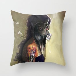 Fighting In a Dream  Throw Pillow