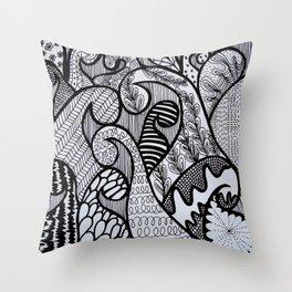 Pattern #8 Throw Pillow