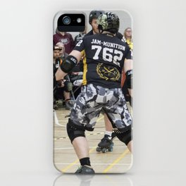 Jam-Munition in Action iPhone Case