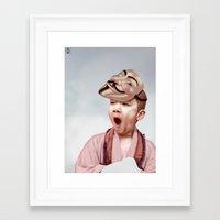 vendetta Framed Art Prints featuring Robin Vendetta by Mirko Richter Grafik