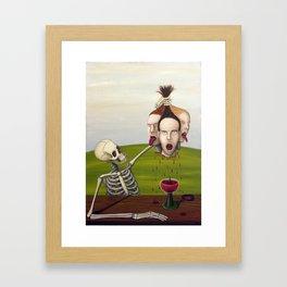 The Winemaker Framed Art Print
