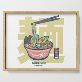 Climbing | Climber Flavor Ramen Noodle Serving Tray