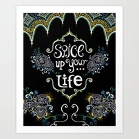 spice Art Prints featuring Spice by Melinda Francis