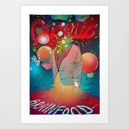 Californium | Quantic Brainfood Art Print