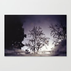 Puddletree Canvas Print