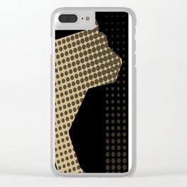 golden bear Clear iPhone Case