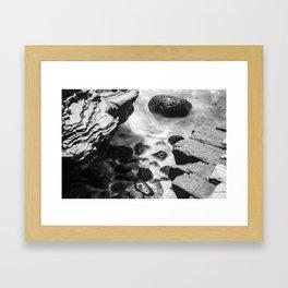 Blurred Water Framed Art Print