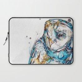 The Sea Glass Owl Laptop Sleeve