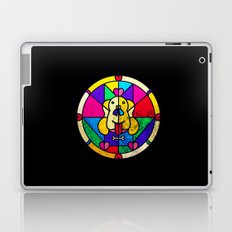 Stained Glass Dog Laptop & iPad Skin