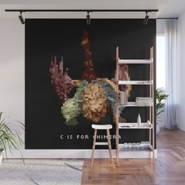 C is for Chimera Wall Mural
