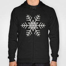 Snowflake | Black and White Hoody