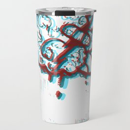 Plaster Brain Funky Travel Mug