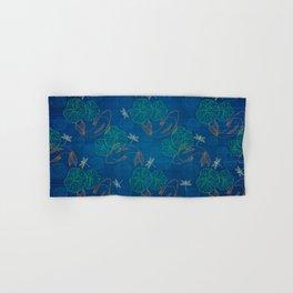 Koi Pond on Washi Silk Hand & Bath Towel