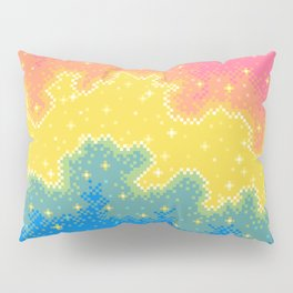 Pan Pride Flag Galaxy Pillow Sham