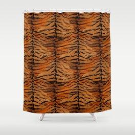 Tiger skin# stylish#tiger#striped# Shower Curtain