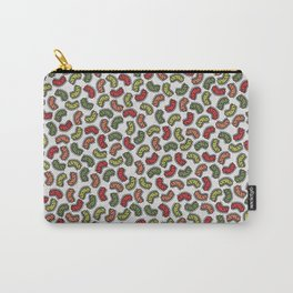 Colorful Bacteria Pattern Carry-All Pouch