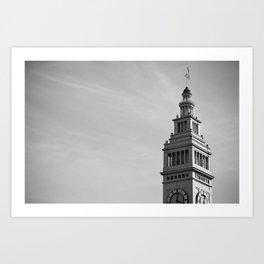 Ferry Building, San Francisco Art Print