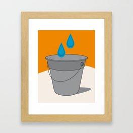 Two Tears in a Bucket Framed Art Print
