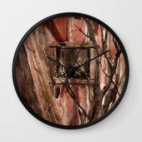Barn window Wall Clock