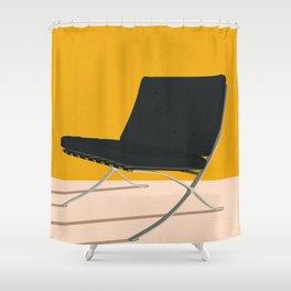 Barcelona Chair Shower Curtain