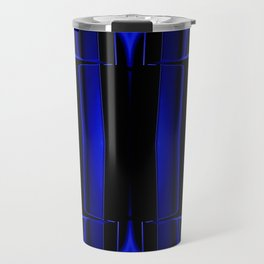 Playing in Blue Travel Mug