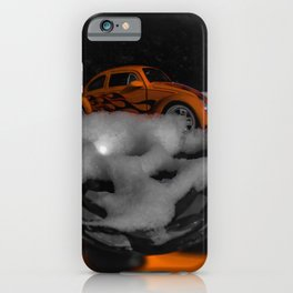 snowy classic in a ball iPhone Case
