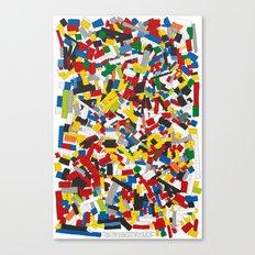 The Lego Movie Canvas Print