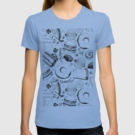 Delicious pattern T-shirt