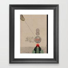 Eight Framed Art Print