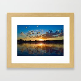 """Evening Reflections"" Framed Art Print"
