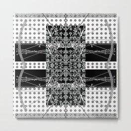 Transverse Vibration 2 Metal Print