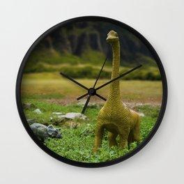 Dinosaur Land Wall Clock