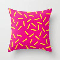 bugs Throw Pillows featuring bugs by very giorgious