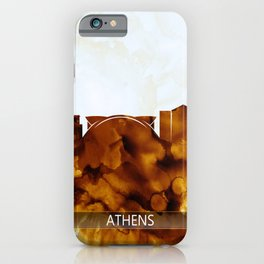 Athens Georgia Skyline iPhone Case