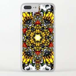 The Tower Of Flowers Clear iPhone Case