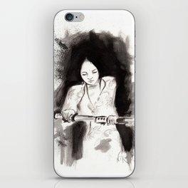 Derrotar al enemigo (Sketch version) iPhone Skin