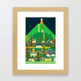 Righteous Suburbs Framed Art Print
