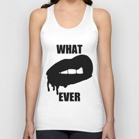 whatever Tank Tops featuring WHATEVER by Delirium