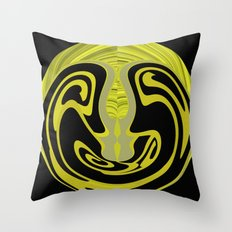 Back in Shape Throw Pillow