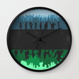 Futurama - Bender's Game Wall Clock