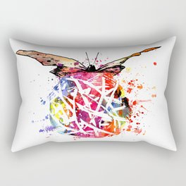 Butterfly Splash Rectangular Pillow