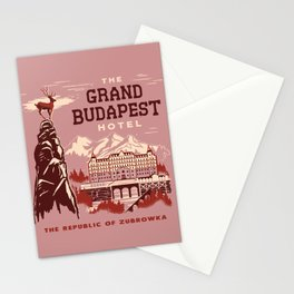 GRAND HOTEL Stationery Cards