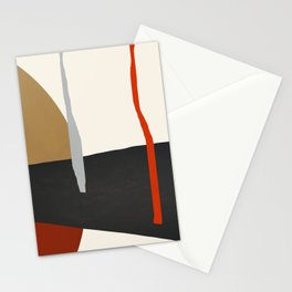 abstract minimal 43 Stationery Cards